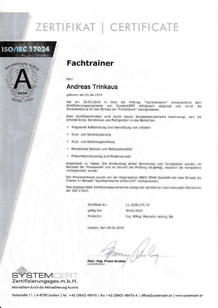 Fachtrainer Zertifikat 724x1024 - Startseite